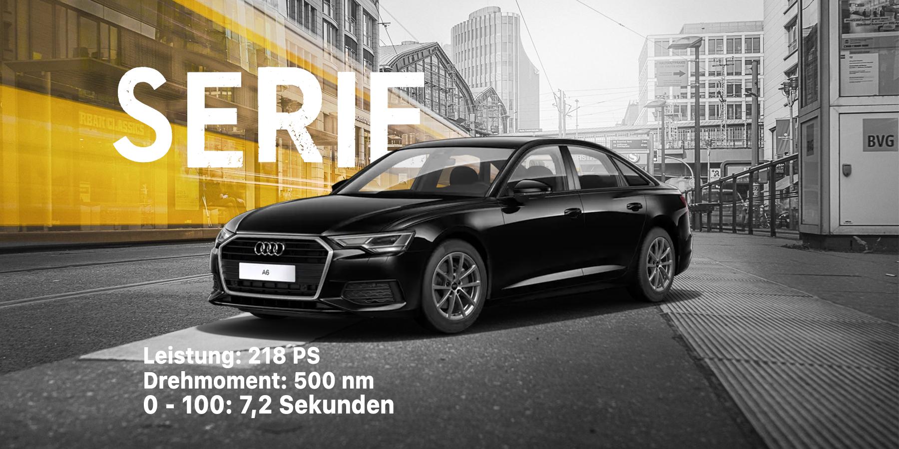 Audi A6 vor dem Tuning und der Softwareoptimierung bei Gorilcars